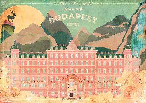 Illustration vectorielle de Budapest
