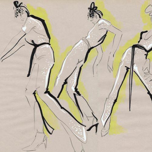 Live Drawing Models Pose