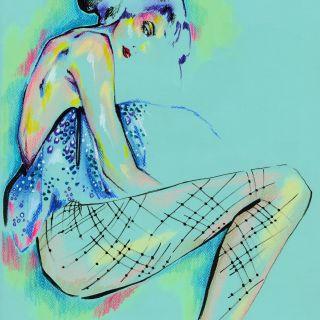 Elly Azizian Live Event Drawing - NY, United States based illustrator