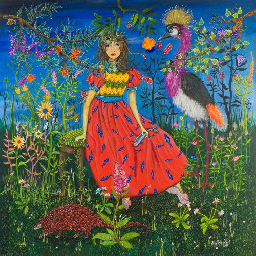 Peinture à l'huile Artemis