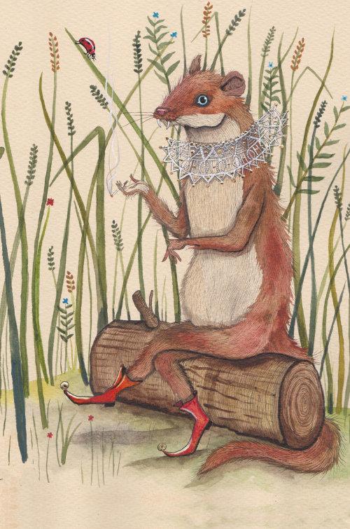 Illustration animale de l'acteur