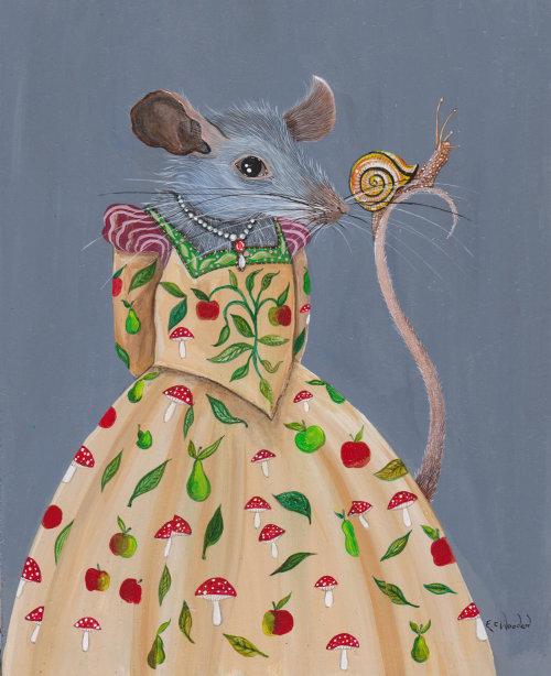 Illustration animale de très friands de rats