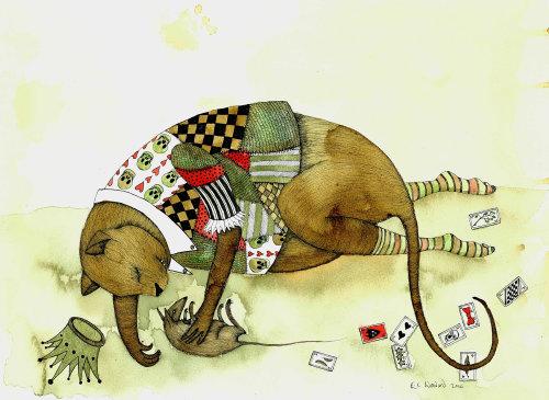 Illustration fantastique du roi rat