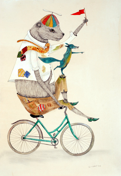 Illustration animale du cirque de souris