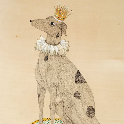 Dog illustration by Emily Carew Woodard