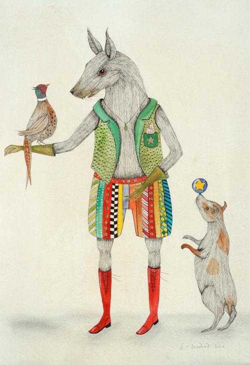 Illustration animale d'amoureux des animaux de compagnie