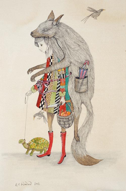 Illustration décorative de la veste de la souris