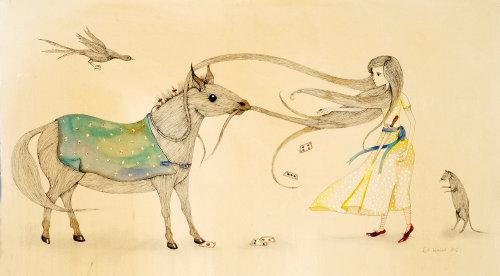 Illustration de livre pour enfants décorative