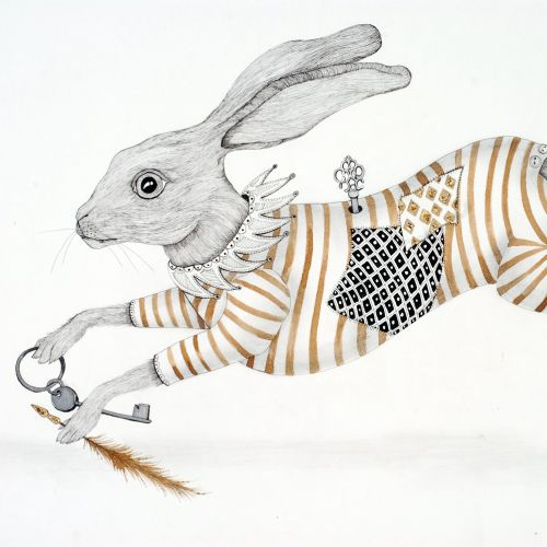 An illustration of rabbit