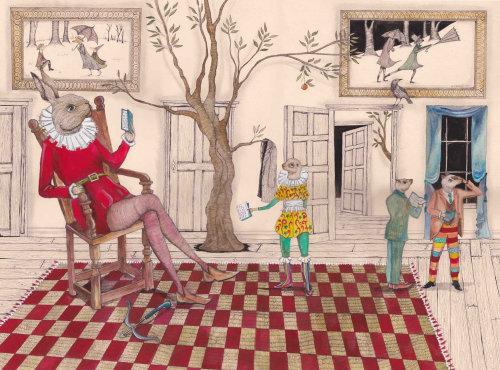 L'illustration de la salle d'audition