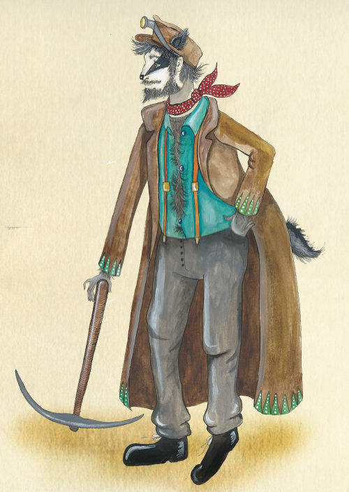Conception de personnage de travailleur agricole