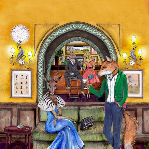 Emily Carew Woodard International Anthropomorphic fairytale illustrator. London