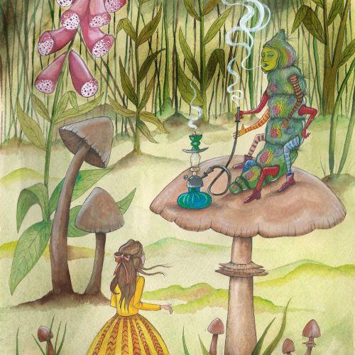 Emily Carew Woodard Animals Illustrator from UK