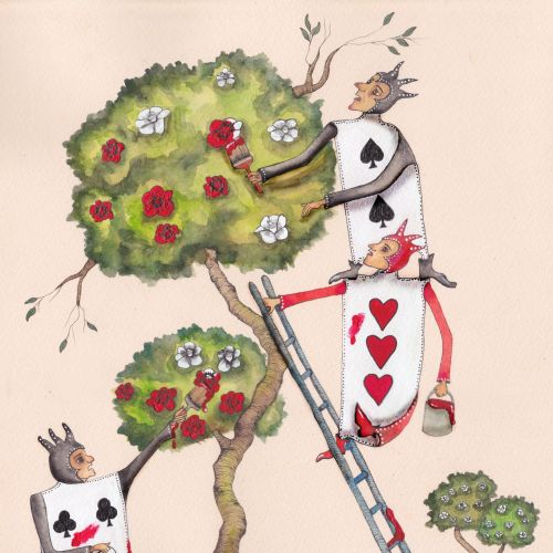 Emily Carew Woodard Internationaler anthropomorpher Märchenillustrator. London