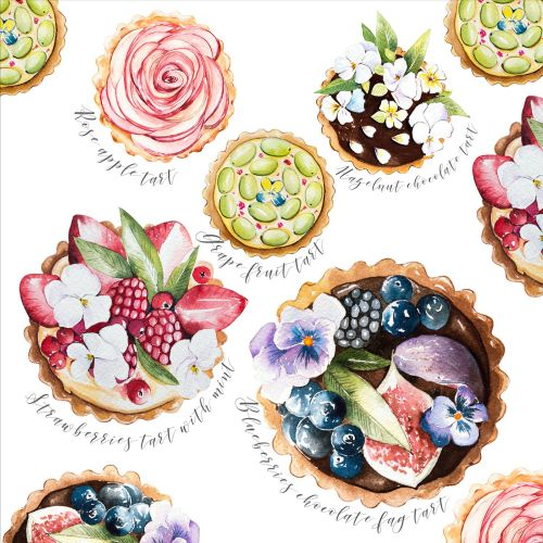 The exquisite little tartlets