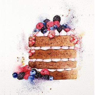 The fruity forest celebration cake