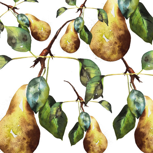 Pear pattern design