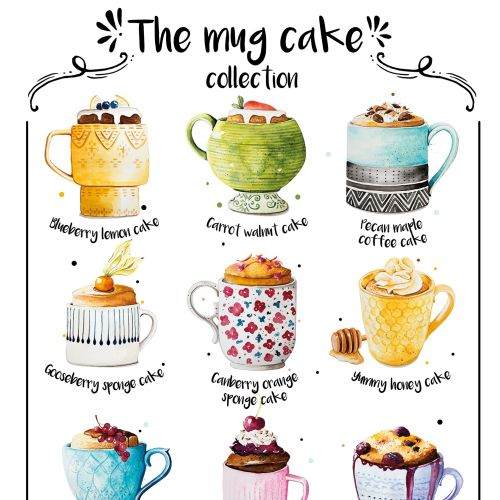 The mug cakes Contemporary art