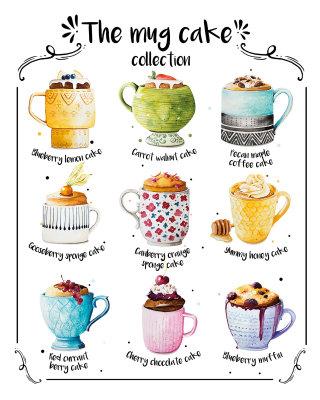 The mug cakes Contemporary art