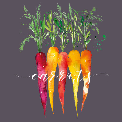Carrots artwork