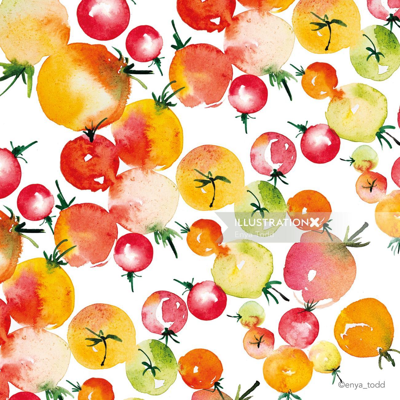 Cherry Tomatoes design