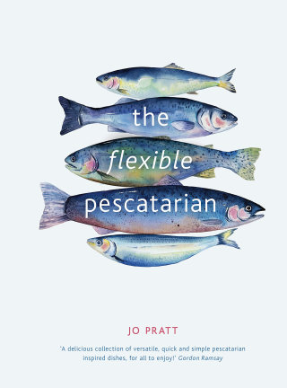 "Cookery Book cover illustration ""The flexible pescataria"