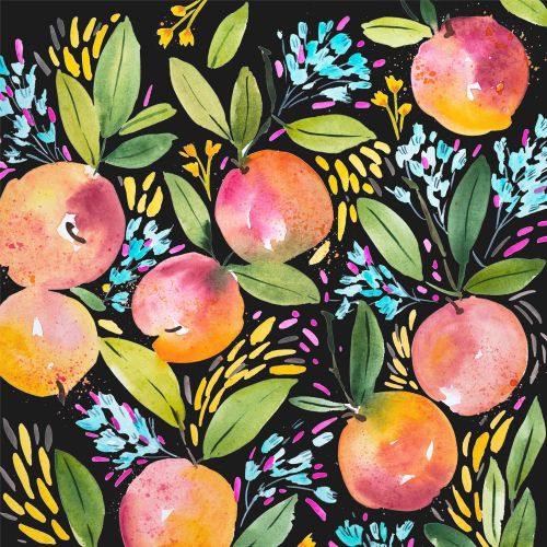 Peach Pattern design