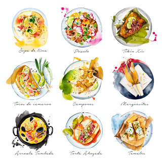 British Airways inflight magazine April issue – The best dishes on the Mexican Caribbean coast