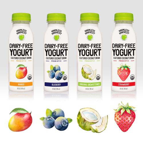 Harmless Harvest – Yogurt drinks