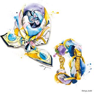 Illustration of pucci jewels