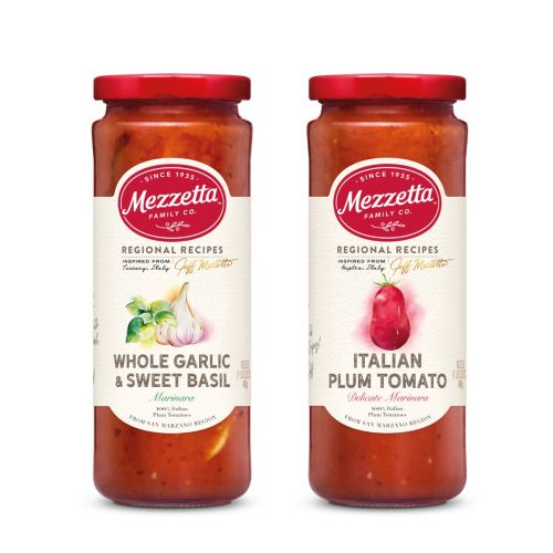 Mezzetta Packaging illustrations