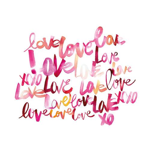 Love – Lettering