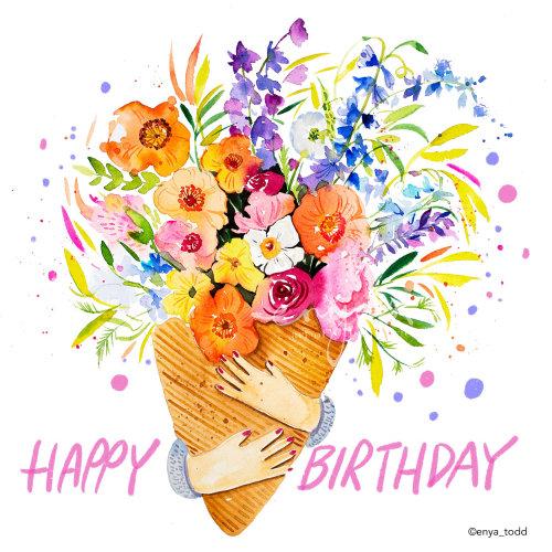 Animation joyeux anniversaire