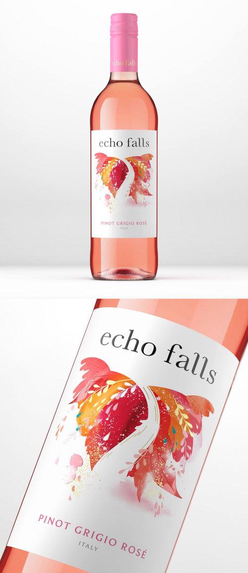 Publicidad Echo Falls