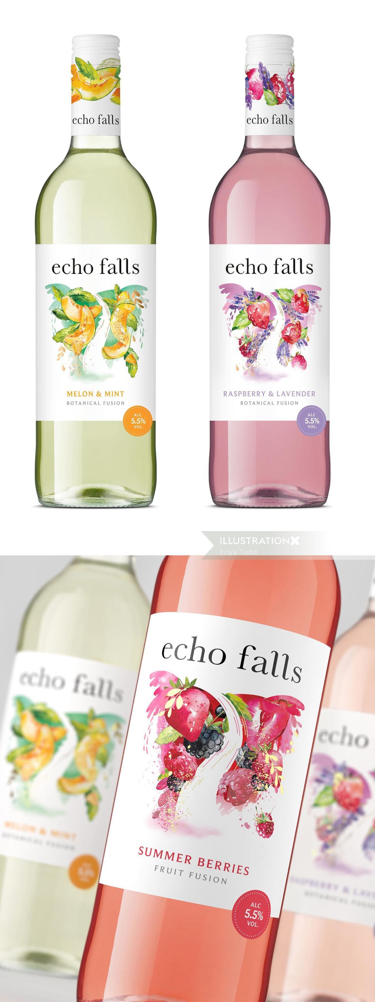 Food & Drink Echo Falls wine