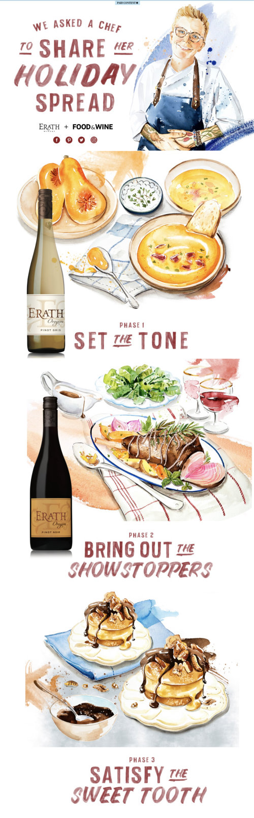 Editorial da Erath Winery