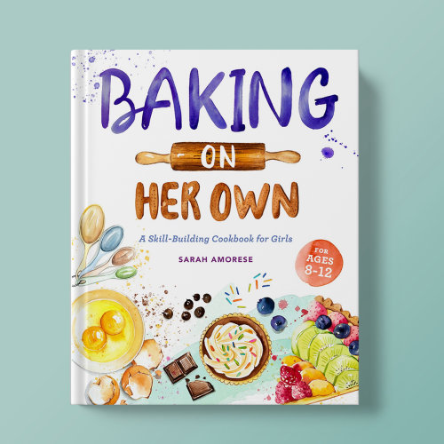 Book cover design of Baking On Her Own