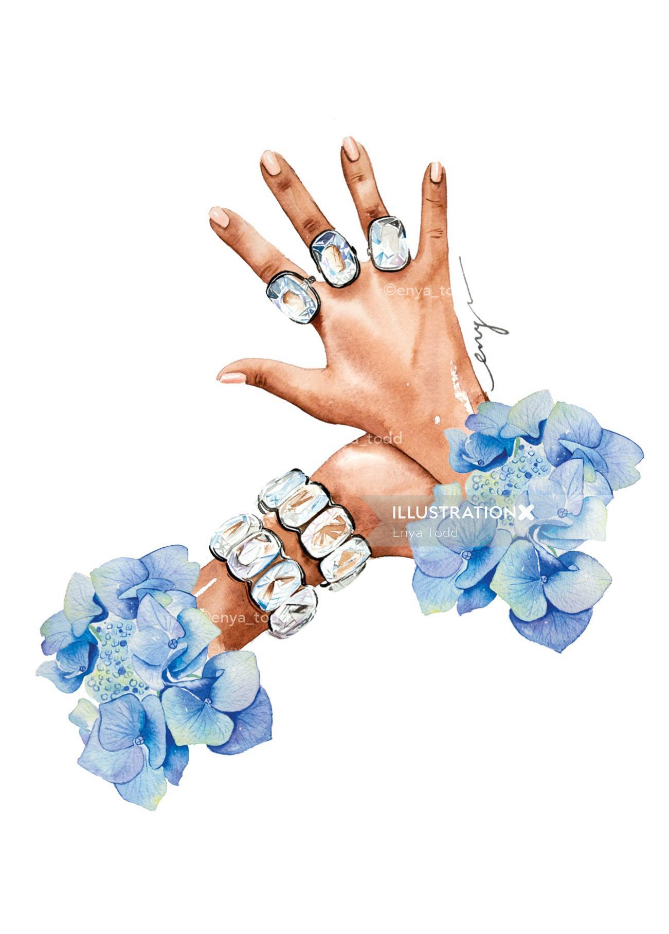 Blingtastic – Crystal rings