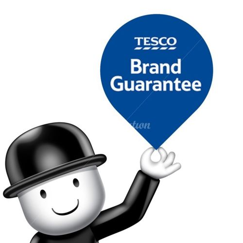 Character design Tesco Brand Guarantee