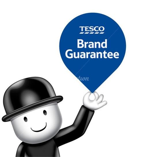 Character design Tesco Brand Guarantee