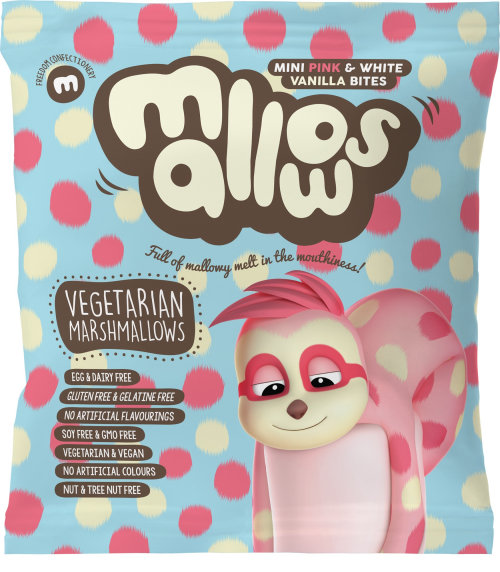Character design of mallows cover