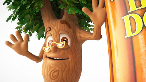 Enfants livre smiley tree