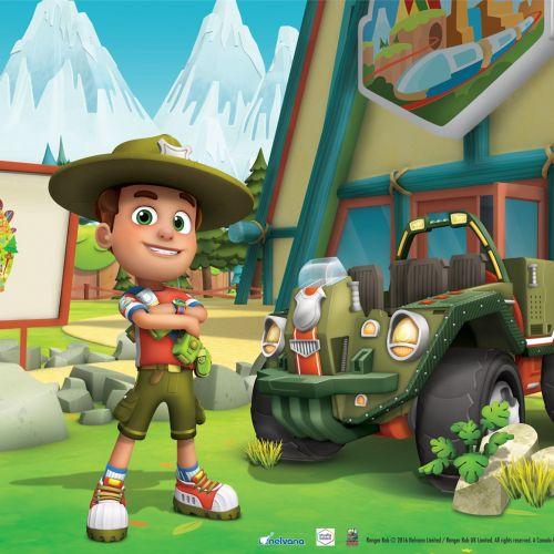 Character design Ranger Rob