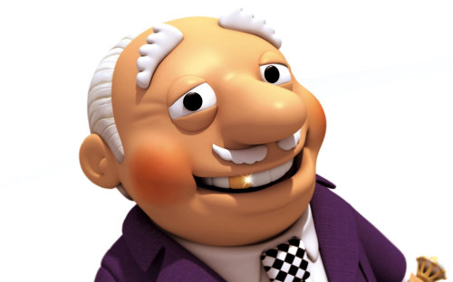 Illustration of old man