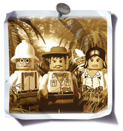Character design Lego cartoons