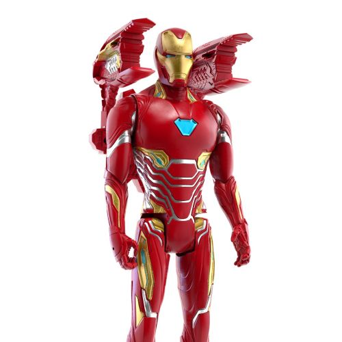 Graphical lron Man character figure for Avengers