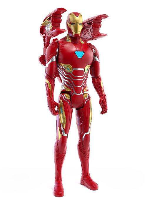Figura gráfica del personaje de lron Man para Avengers