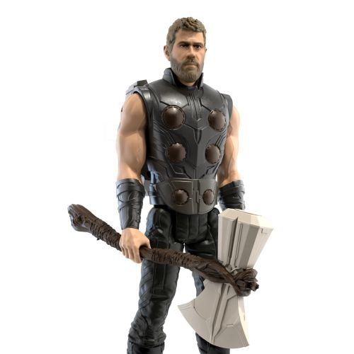realistic art Thor character figure for Avengers