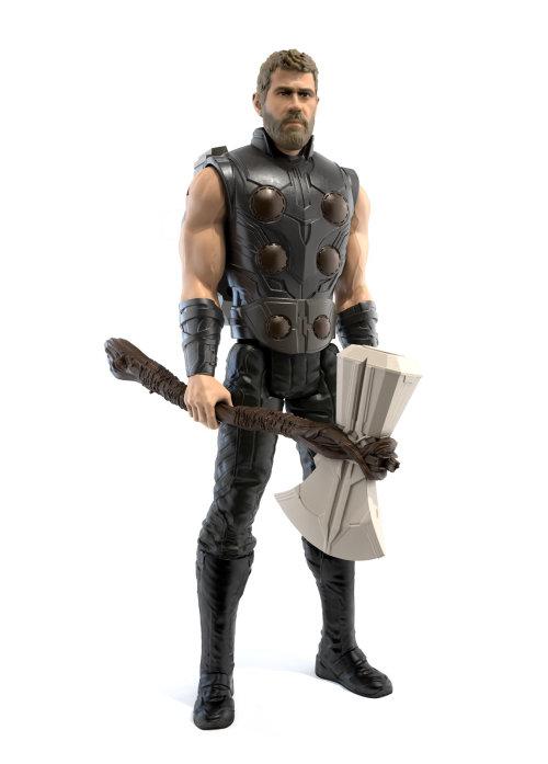 Figura de personaje realista de Thor para Vengadores