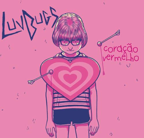 capa para álbum de banda luvbugs